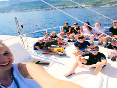 Boat trips for family adventures in Croatia