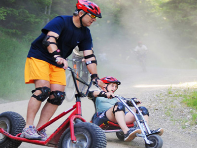 downhill karting in Slovenia