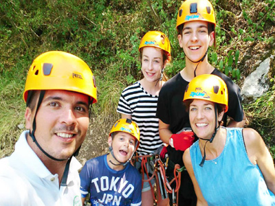 zip lines in Slovenia experiences