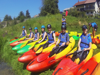 activity holidays for families in Slovenia