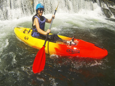 River kayak tours for families in Slovenia