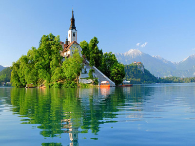 Lake Bled the perfect place for Slovenia holidays