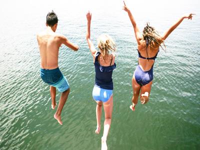 Teenage and family holidays in Slovenia