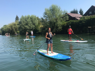 SUP boarding tours of Ljubljana
