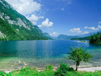 bike tours of Bohinj lake