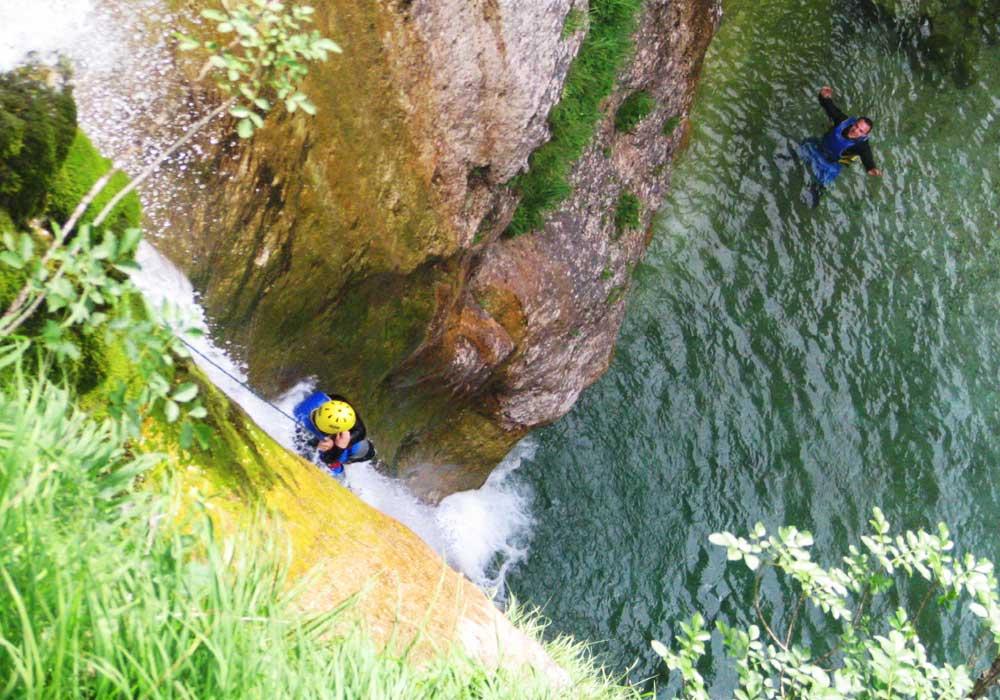 Canyoning tours from Ljubljana
