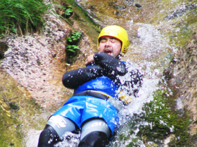 Slovenia canyoning day tours