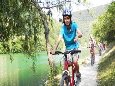 Family cycle day tour Ljubljana